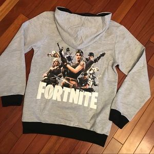 Other - NEW Fortnite Zip Up Hoodie Jacket Light Weight